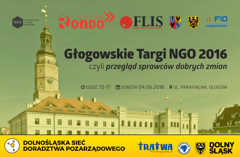FLIS RONDO w działaniu - Głogowskie Targi NGO 2016 DPKD