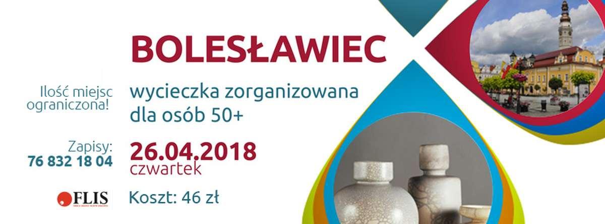 FLIS Głogów Wycieczka do Bolesławca dla seniorów (26.04.2018) baner